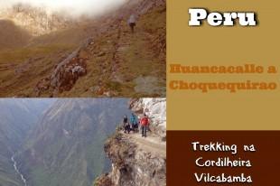 Huancacalle a Choquequirao - Principal