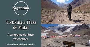 Trekking a Plaza de Mulas