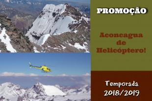 Promoção Aconcagua de Helicóptero