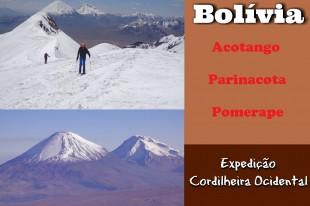 Acotango, Parinacota e Pomerape - Principal