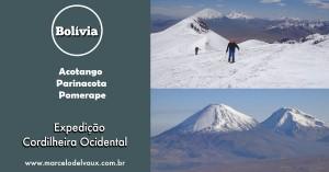 Acotango, Parinacota e Pomerape